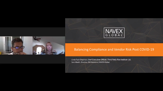 Balancing Compliance and Vendor Risk Post COVID-19