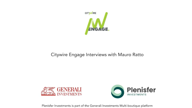 Citywire Engage video interview with Mauro Ratto