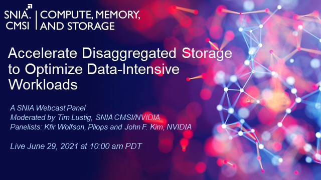 Accelerate Disaggregated Storage to Optimize Data-Intensive Workloads