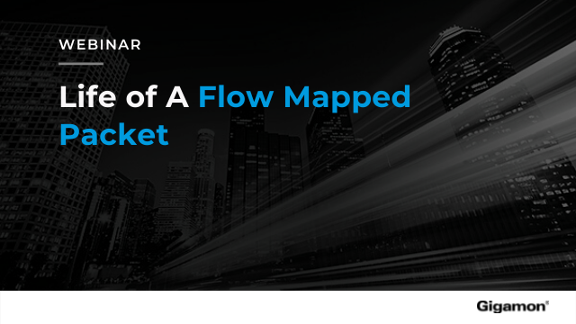 Life of A Flow Mapped Packet