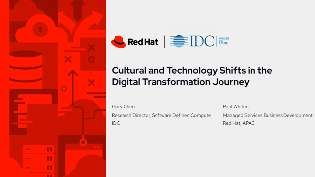 Cultural & Technology Shifts in the Digital Transformation Journey