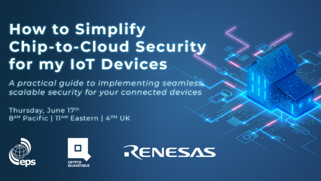 How to Simplify Chip-to-Cloud Security for my IoT Devices