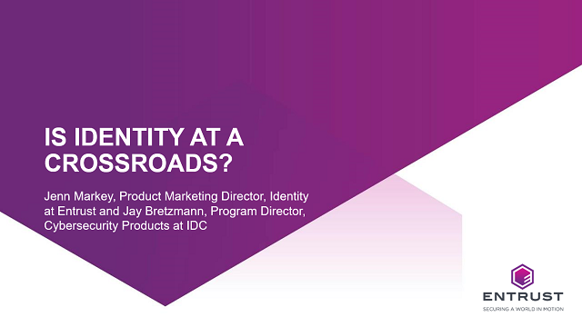 Is Identity at a Crossroads?