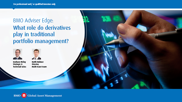What role do derivatives play in traditional portfolio management?