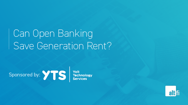 Can Open Banking Save Generation Rent?