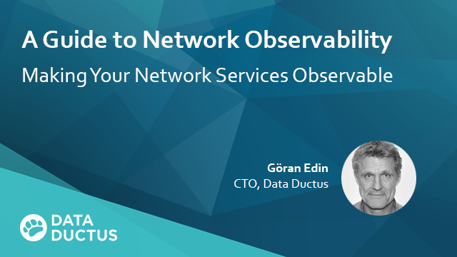 A Guide to Network Observability