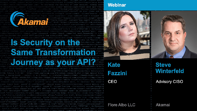 Is Security on the Same Transformation Journey as your APIs?