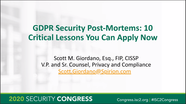 GDPR Security Post-Mortems: 10 Critical Lessons You Can Apply Now
