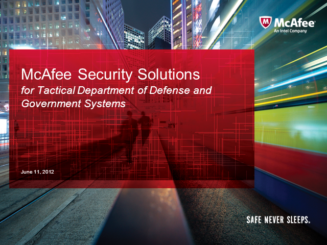 Embedded Security Solutions for Military, Aerospace and Government