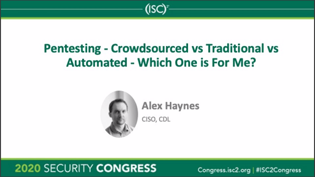 Pentesting - Crowdsourced vs Traditional vs Automated - Which One Is For Me?