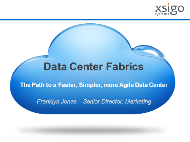 The Data Center Fabric Promise!