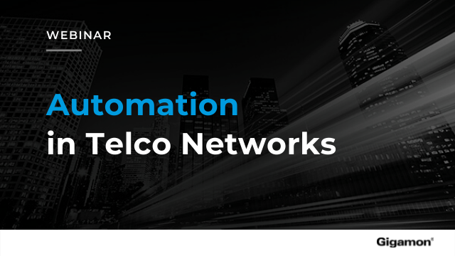 Automation in Telco Networks