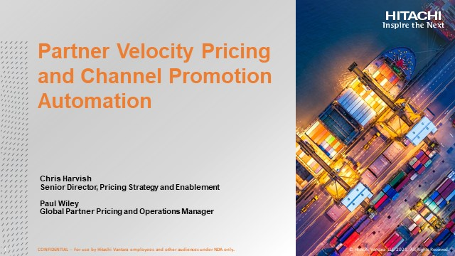 Partner Velocity Pricing and Channel Promotion Automation