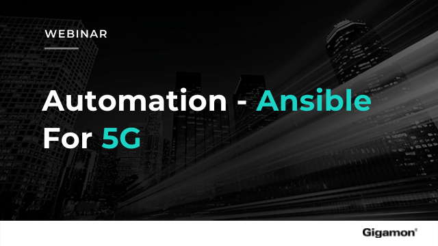 Automation — Ansible for 5G