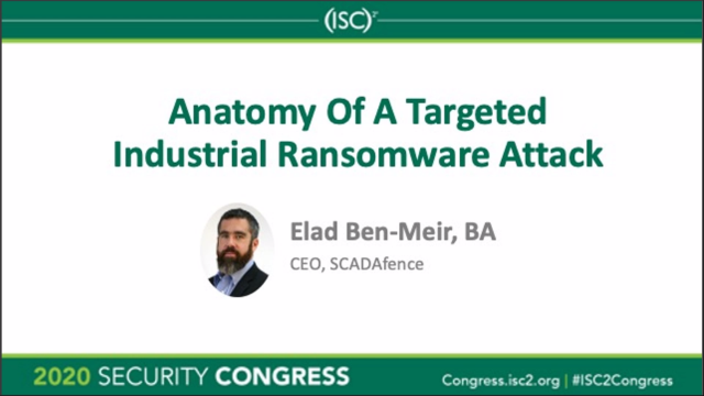 Anatomy Of A Targeted Industrial Ransomware Attack