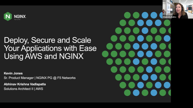 Deploy, Secure and Scale Your Applications with Ease Using AWS and NGINX