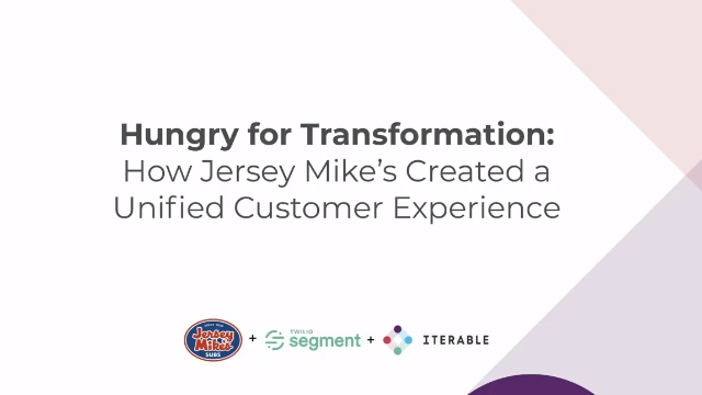 How Jersey Mike's Created a Unified Customer Experience