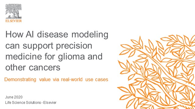 How AI disease modeling can support precision medicine for glioma/other cancers