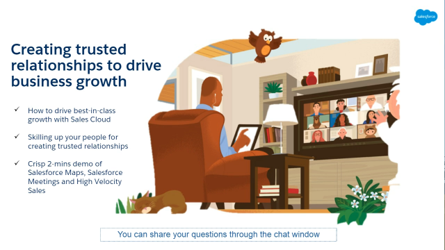 Creating trusted relationships to drive business growth