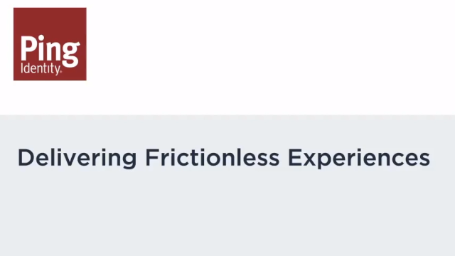Password-less Authentication: Delivering Frictionless Experiences