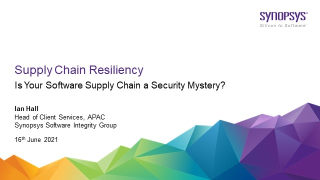Is Your Software Supply Chain a Security Mystery?