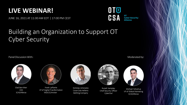 Building an Organization to Support OT Cyber Security