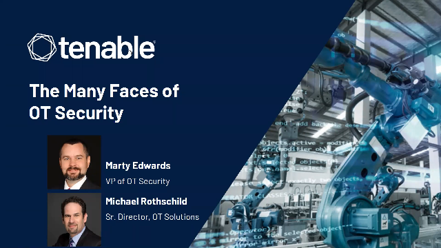 The Many Faces of OT Security
