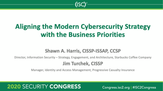 Aligning the Modern Cybersecurity Strategy with the Business Priorities