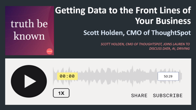 Podcast: Getting Data to the Front Lines of Your Business