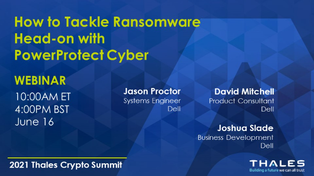 How to Tackle Ransomware Head-on with PowerProtect Cyber