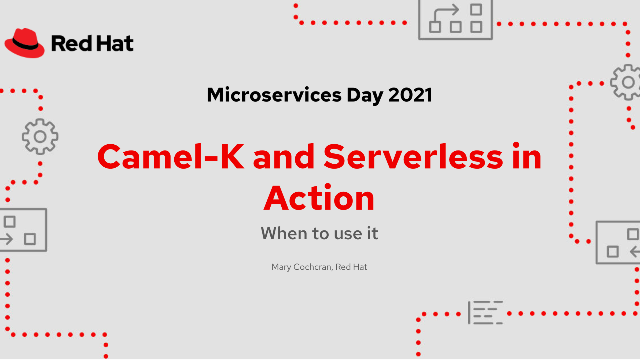 Apache Camel-K and serverless in action