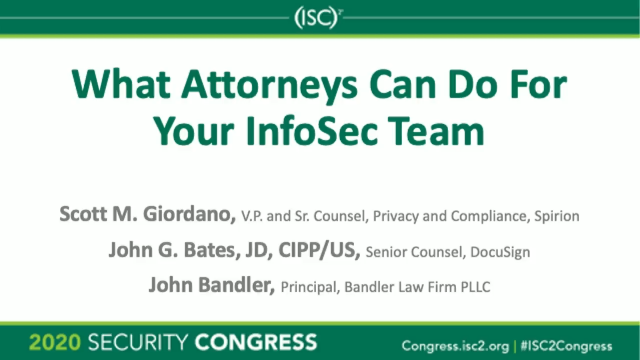 What Attorneys Can Do For Your InfoSec Team