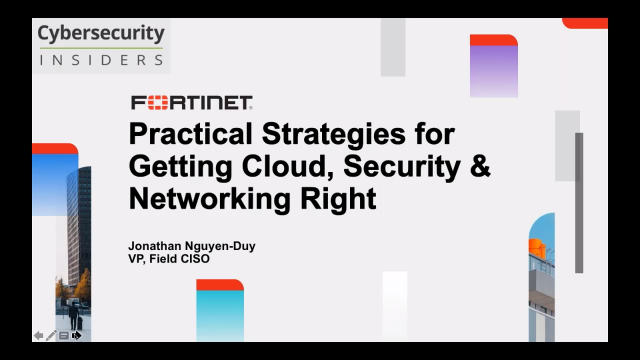 Practical Strategies for Getting Cloud, Security and Networking Right