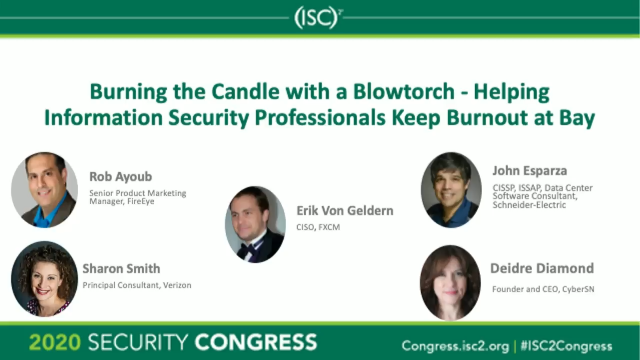 Burning the Candle with a Blowtorch - Helping Keep Burnout at Bay