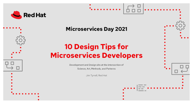 10 design tips for microservices developers