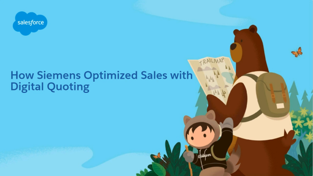 How Siemens Optimized Sales with Digital Quoting