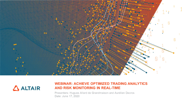 Achieve Optimized Trading Analytics and Risk Monitoring in Real-time