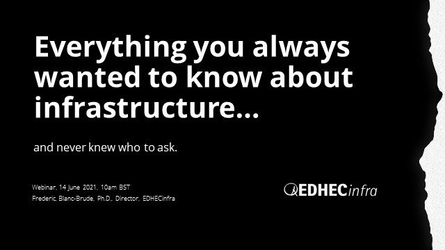 Everything you always wanted to know about infrastructure investing