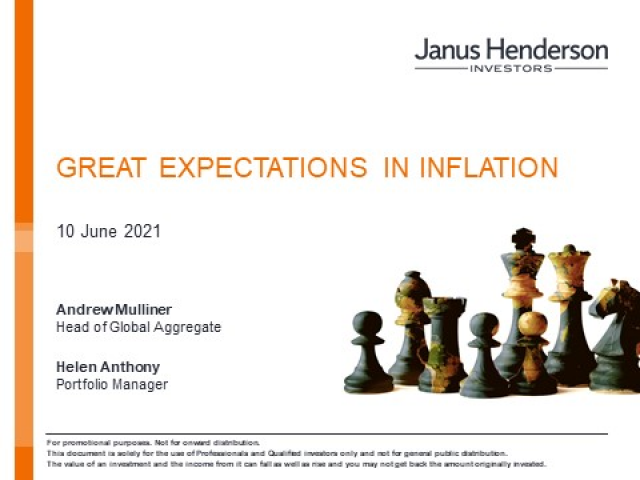 Great expectations in inflation