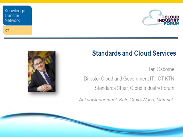 An introduction to Cloud Standards