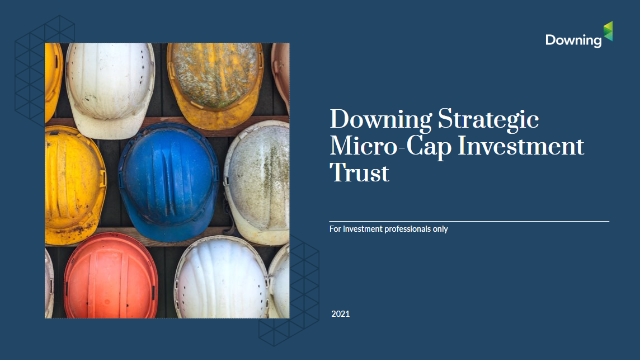 Introducing the Downing Strategic Micro-Cap Investment Trust