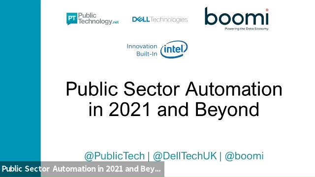 Public Sector Automation in 2021 and Beyond