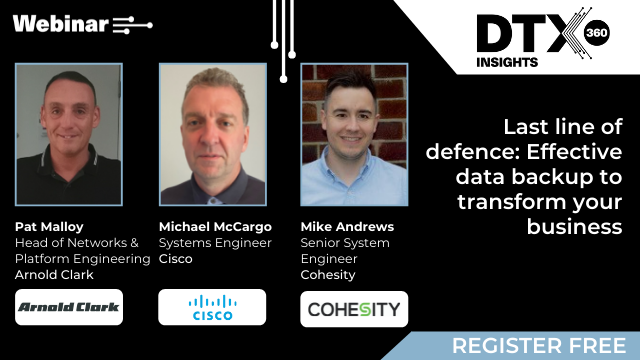 Last line of defence: Effective data backup to transform your business