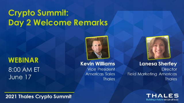 Crypto Summit: Day 2 Opening Remarks