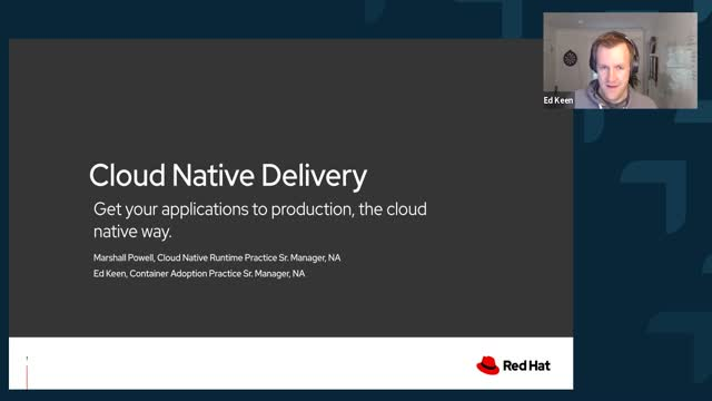 Cloud Native Delivery