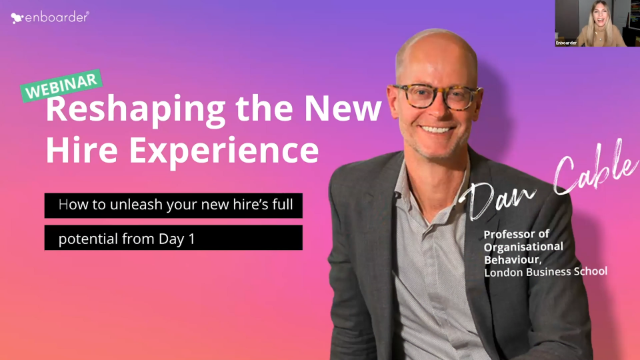 Reshaping the new hire experience: How to unleash ones full potential from Day 1