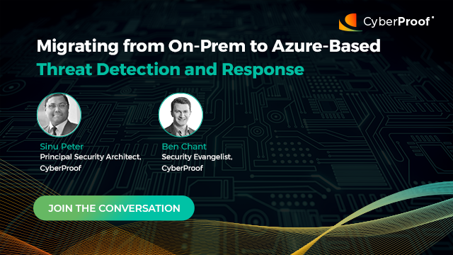 Migrating from on-prem to Azure-based threat detection and response