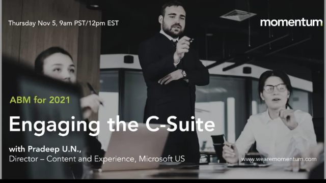 ABM for 2021 | Engaging the c-suite