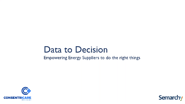 Data to Decision: Empowering Energy Suppliers to Do the Right Things