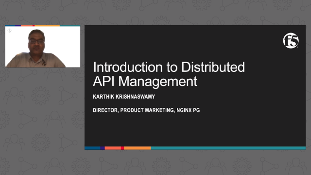 Introduction to Distributed API Management
